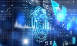 technologie globale de concept image stock