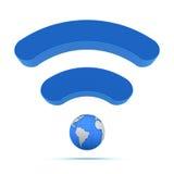 Technologie globale sans fil Photos stock