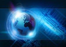Technologie-Hintergrund Stockfoto