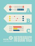 Technologie Infographic-Element Stockbild