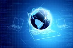 Technologie Informacyjne & networking Pojęcie Obrazy Stock