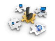 technologie informacyjne świat Zdjęcie Stock