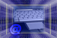 Technologie informatique globale. Photos libres de droits