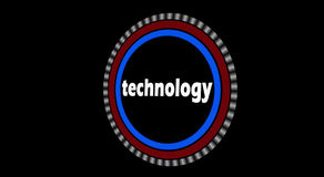 Technologie-Intro-Animation stock video