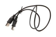 Technologie-kabel met stop Royalty-vrije Stock Afbeelding