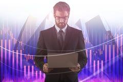 Technologie-, Kommunikations- und Investitionskonzept Stockfotos