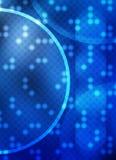 Technologie-Kreis-Hintergrund Stockfotografie