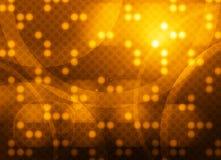 Technologie-Kreis-Hintergrund Lizenzfreie Stockfotos