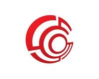 Technologie Logo Template Design Vector, emblème, concept de cercle de construction, Image libre de droits