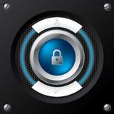 Technologie-LOGON-Bildschirm Lizenzfreies Stockfoto
