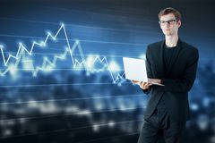 Technologie-, Markt- und Wachstumskonzept Lizenzfreie Stockfotografie
