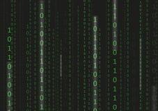 Technologie Matrix noire Photographie stock libre de droits