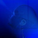 Technologie-Mensch Lizenzfreie Stockfotografie