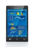 Technologie mobile pour des affaires Photo stock