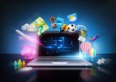 Technologie moderne Images libres de droits