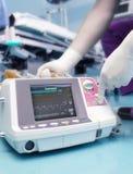 Technologie moderne dans l'hôpital. image stock