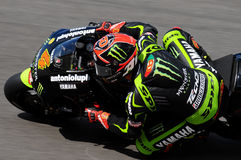 Technologie 3 MotoGP 2012 van Andrea Dovizioso YAMAHA Royalty-vrije Stock Foto
