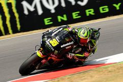 Technologie 3 MotoGP 2012 van Cal Crutchlow YAMAHA Stock Afbeelding