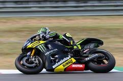 Technologie 3 MotoGP 2012 van Cal Crutchlow YAMAHA Stock Afbeeldingen