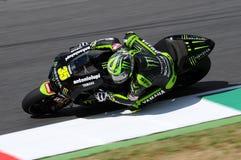 Technologie 3 MotoGP 2012 van Cal Crutchlow YAMAHA Stock Fotografie