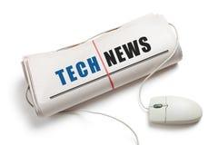 Technologie-Nachrichten stockfotografie