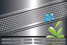Technologie ; nature ; fower ; beauté ; contrat à terme Images stock
