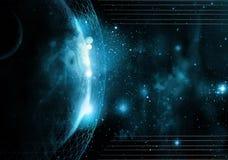 Technologie nette du monde Photo stock