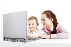 Technologie neuve de l'apprentissage. Photo libre de droits