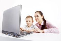 Technologie neuve de l'apprentissage. Photos stock