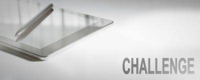 Technologie numérique de concept d'affaires de DÉFI Concept graphique Photo stock