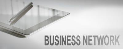 Technologie numérique de concept d'affaires de RÉSEAU d'AFFAIRES Graphique Co photos stock