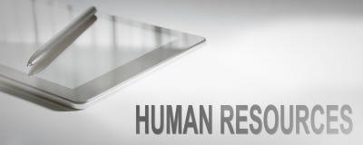 Technologie numérique de concept d'affaires de RESSOURCES HUMAINES Image libre de droits