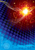 Technologie-Platz-Explosion Lizenzfreies Stockfoto