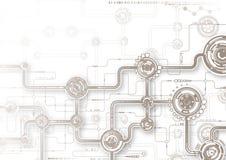 Technologie-samenstelling Royalty-vrije Illustratie