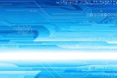 Technologie-samenstelling Stock Foto
