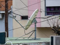 Technologie satellite, Internet et communications photo libre de droits