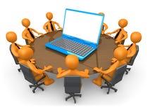 Technologie-Sitzung Stockfotos