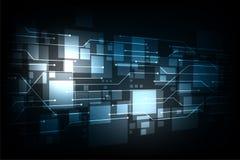 Technologie sous forme de système de communication Image stock