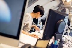 Technologie-Startgründer-Arbeiten Lizenzfreies Stockfoto