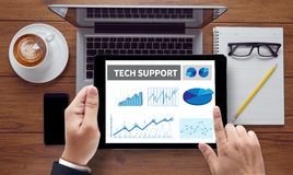 Technologie-steun Royalty-vrije Stock Afbeelding