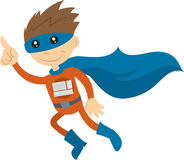 Technologie Superhero Stock Afbeelding