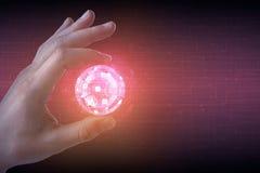 Technologie, toekomst en netwerk Royalty-vrije Stock Fotografie