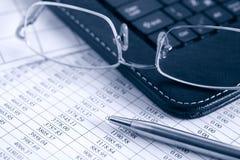 Technologie und Geschäft Lizenzfreie Stockfotos