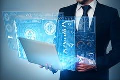 Technologie- und Innovationskonzept Lizenzfreie Stockbilder