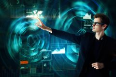 Technologie- und Innovationskonzept Stockbilder