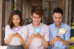 Technologie und Internet-Konzept Lizenzfreies Stockfoto