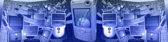 Technologie und WW Geschäft Lizenzfreies Stockbild