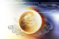 Technologie van de wereld Stock Afbeelding