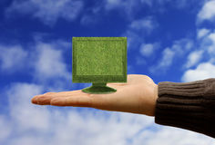 Technologie verte Photo stock