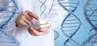 Technologie w nauce i medycynie obraz stock